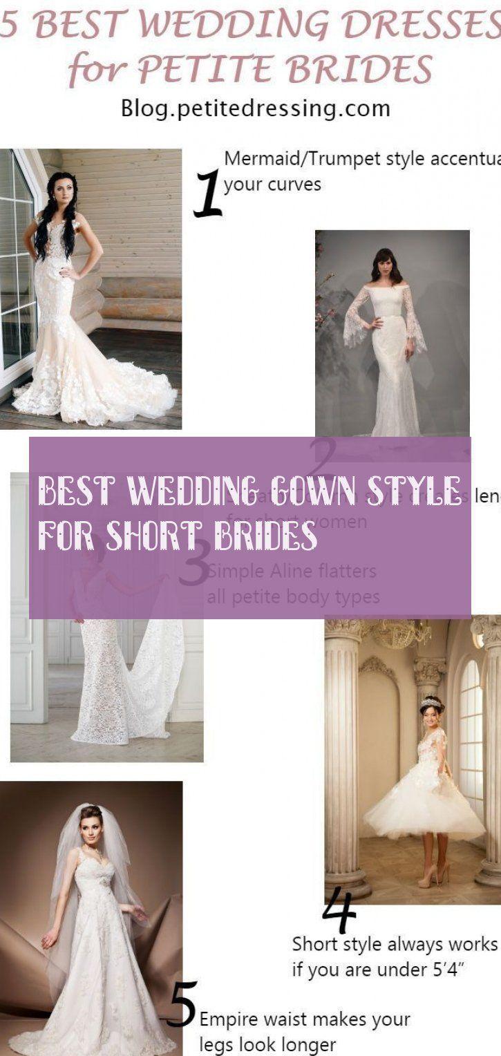 Wedding Best Wedding Gown Style For Short Brides Beach Wedding Gown Royal W [ 1528 x 725 Pixel ]