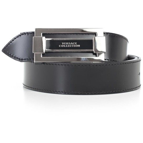 Belt (205 CAD) ❤ liked on Polyvore featuring men's fashion, men's accessories, men's belts, menaccessoriesbelts and versace mens belt