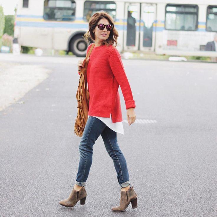 "Jillian Harris on Instagram: ""Fall Layers!! Stocking up on @joefresh jeans 30% off!!!! #FreshDenim #LTKUnder50 @liketoknow.it www.liketk.it/1Ls7n #liketkit"""