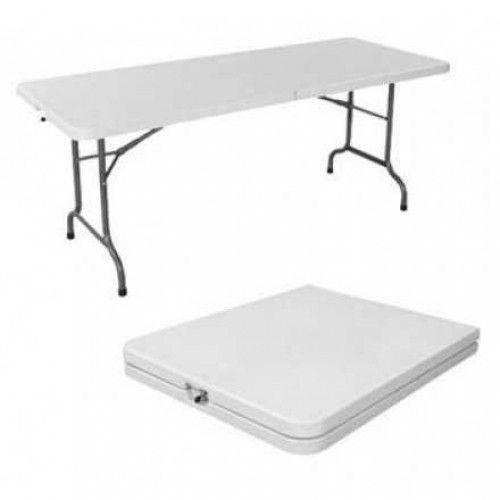 Tavolo richiudibile con piano e gambe pieghevoli h12208