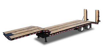 Flatbed Trailers - Dropdeck http://www.kaufmantrailers.com/flatbed-trailers/drop-deck-flatbed-trailer/