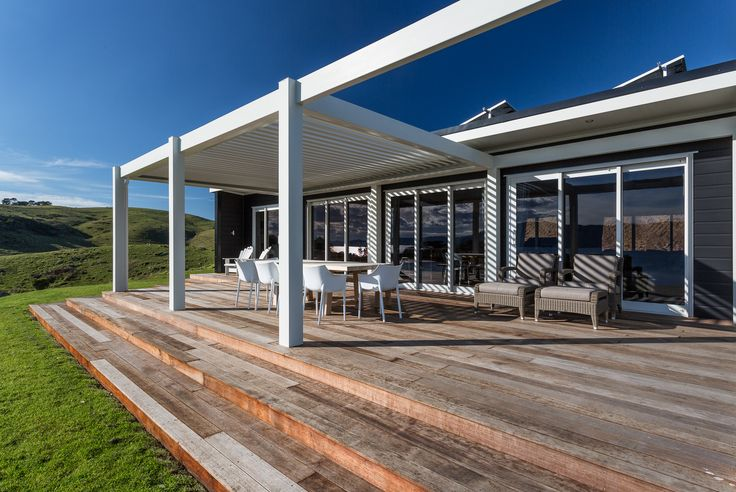 Beautiful Lockwood Verandah Plan built for clients on a remote island site
