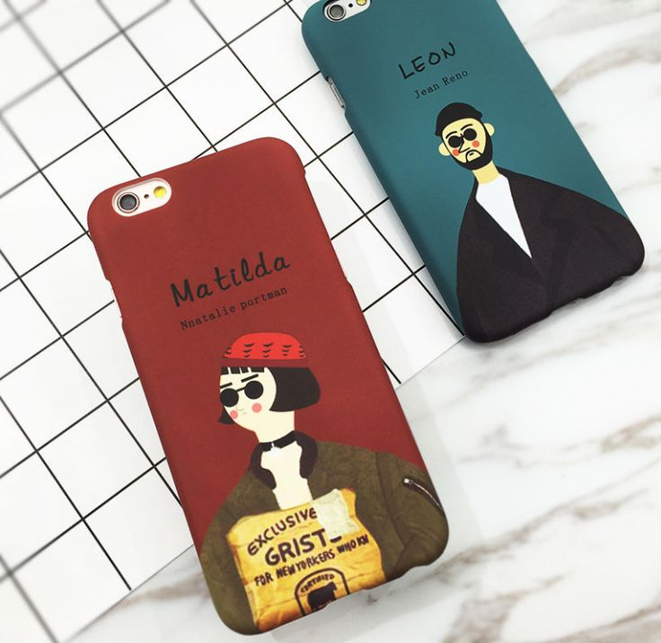 Leon Movie Pattern Love Couple Plastic Hard Phone Case For iPhone 7 6 6s Plus 5. ECA Listing By Crochet Accessories, Montenegro