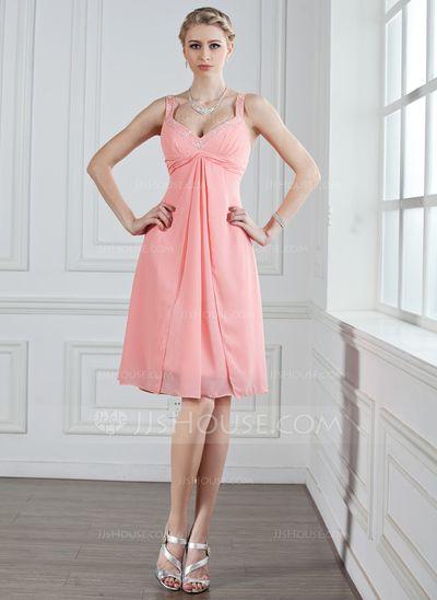 Robes+de+demoiselle+d'honneur+-+$96.99+-+Forme+Princesse+Bustier+en+coeur+Mi-longues+Mousseline+de+soie+Robe+de+demoiselle+d'honneur+avec+Plissé+Broderie+de+perles+(007005243)+http://jjshouse.com/fr/Forme-Princesse-Bustier-En-Coeur-Mi-Longues-Mousseline-De-Soie-Robe-De-Demoiselle-D-Honneur-Avec-Plisse-Broderie-De-Perles-007005243-g5243?ver=1