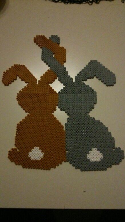Hama Bügelperlen Hase Ostern