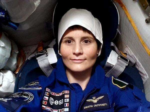 Samantha Cristoforetti, l'astronauta italiano con piu' giorni di permanenza nello spazio