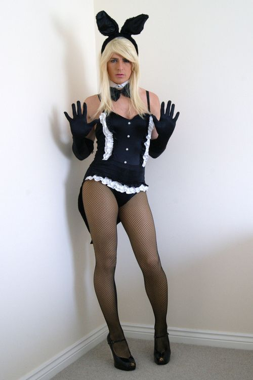 Shemale In Bunny Outfit 119