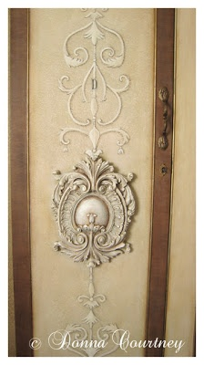The Decorated House: ~Monday Corners of My Home, Painted Armoire
