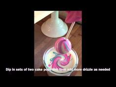 HOW TO MAKE THE MOST AMAZING RAINBOW CAKE POPS! - YouTube