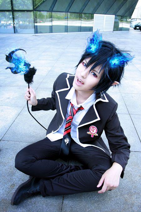 Blue Exorcist Rin Girl Cosplay