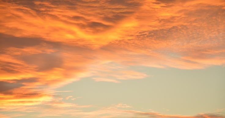solnedgång i Småland .. hemma