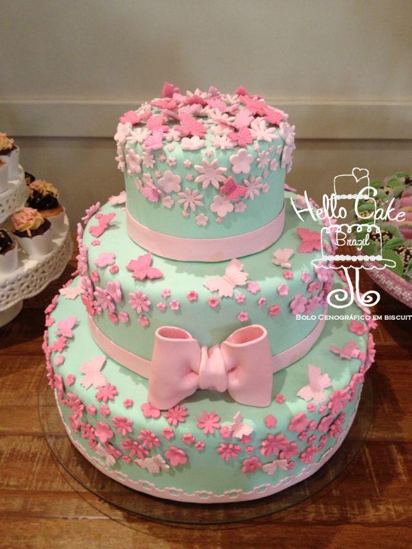 bolo com flores - Pesquisa Google