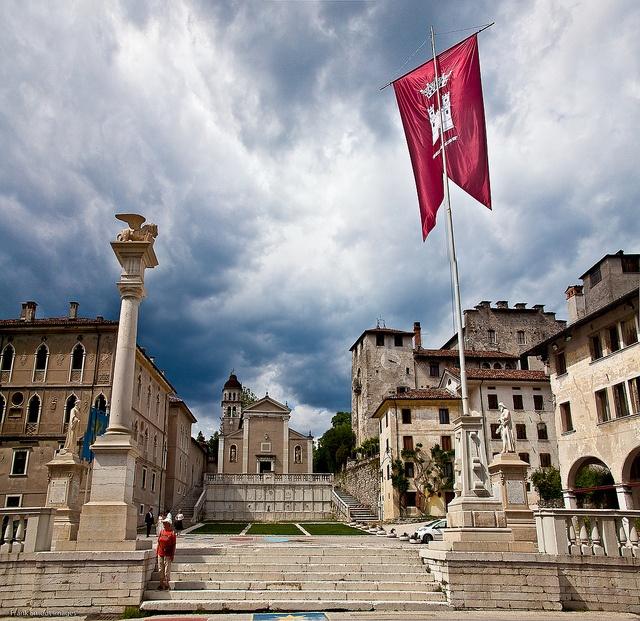Feltre (BL) - Italia la città della mia nonna
