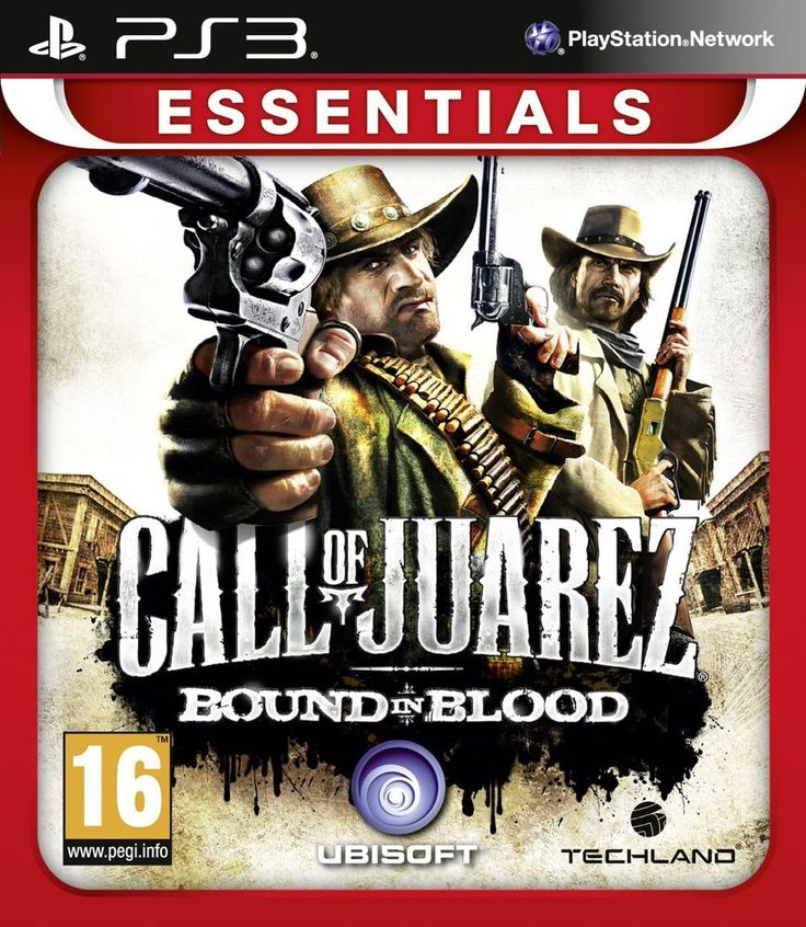 PS3 CALL OF JUAREZ : BOUND IN BLOOD PlayStation 3 GAME   eBay
