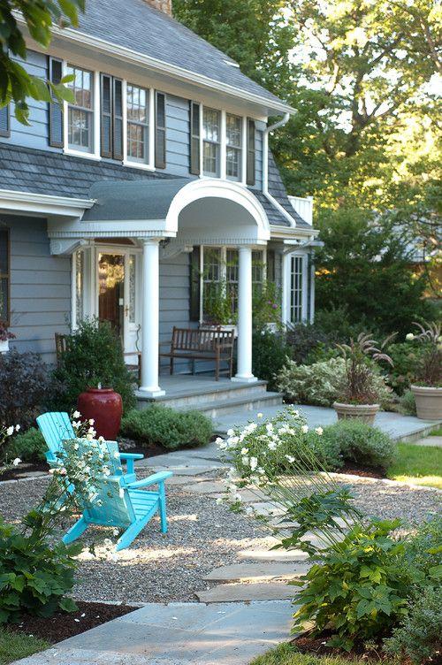 15 best front patios images on Pinterest   Decks, Front yard patio ...