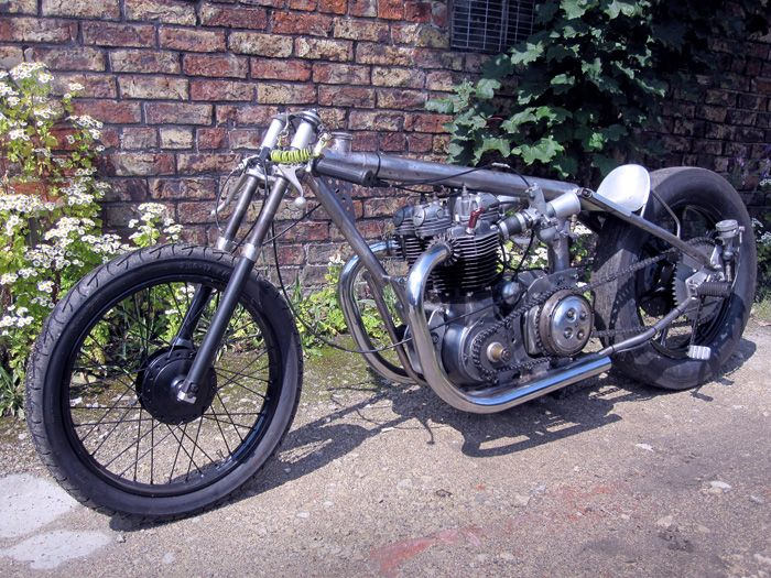 1968 Triumph Drag Bike - Pipeburn - Purveyors of Classic Motorcycles, Cafe Racers & Custom motorbikes
