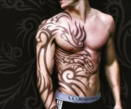 the 25 best tribal tattoos on arm ideas on tribal