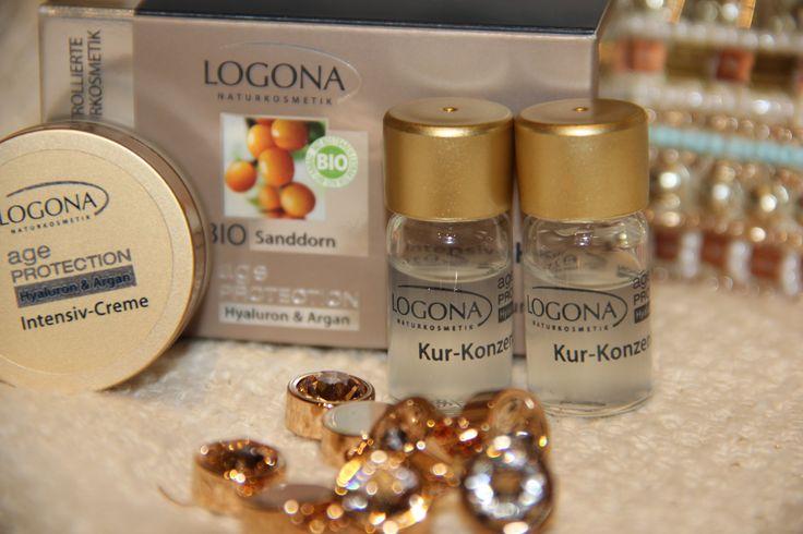 Tratamiento Intensivo Logona Age Protection (2 ampollas y 1 crema). Suaviza, regenera e hidrata pieles exigentes.