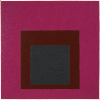 Josef Albers (1888 - 1976) | Hard Edge Painting | Homage to the Square: Guarded - 1952