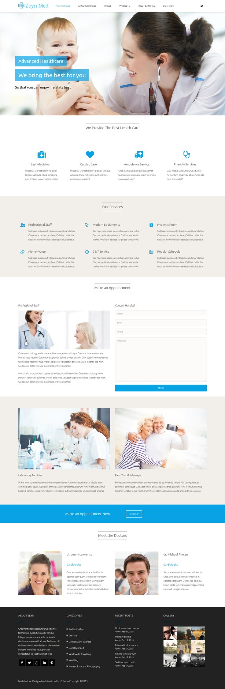 Zeyn is the most completed theme ever released for #Joomla ! It powered by new warp 7.3 framework , HTML 5 , CSS 3 , LESS and UIKIT. Zeyn with incredible flexibility is suitable for every site like corporate, classic, modern, blog, #medical, law #website.
