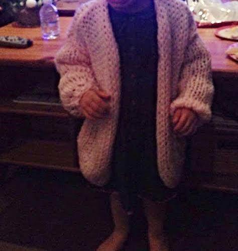 Bernadette voor kinderen         Zelf een kinder Bernadette vest breien                       Maat : 4/6/8/10/12 jaar              Beno...
