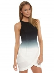 Gradient Dress in Blue & White $169.99
