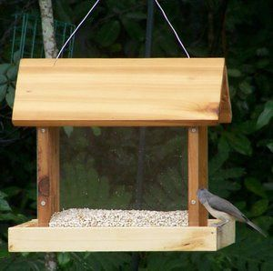This bird feeder can be made quickly with your Kreg pocket jig.