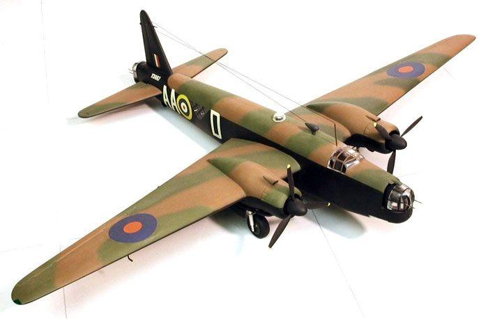 """Vickers Wellington B.Mk.III by Eddie """"Gunticus"""" Wilson (Airfix 1/72)"""