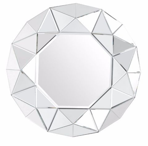 This modern and contemporary mirror has a glass on glass surround. The varying levels allow light to bounce off and illuminate your room, making it great in a large room, on a feature wall, or to add dimension to a smaller space like a hallway. Where to buy: Silver Coloured Zaragoza Wall Mirror, £120, #Kaleidoscope #Home #InteriorDesign #Design #Homewares #Lifestyle #lbloggers