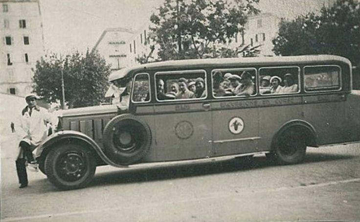 1930 Le Palais de Justice (Escurtion en Corse)