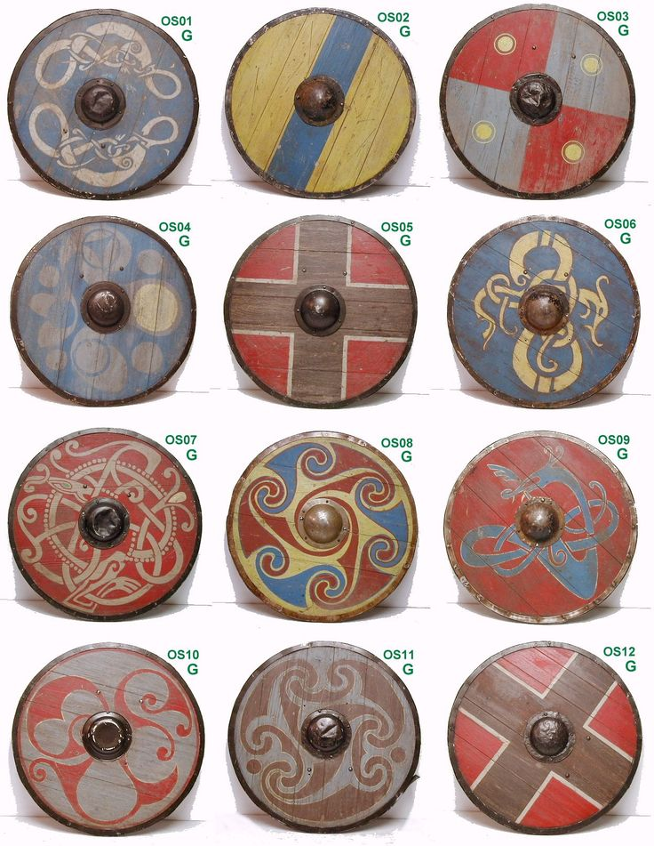 Shield patterns for Saxon / Vikings?                                                                                                                                                                                 More