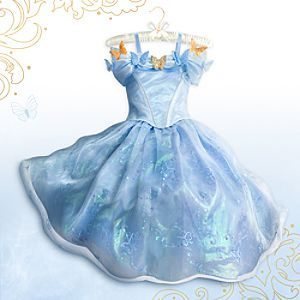 Disney Cinderella Limited Edition Costume for Girls - Live Action Film | Disney StoreCinderella Limited Edition Costume for Girls - Live Action Film - She will bring the fairytale to life in this dazzling limited edition Cinderella Costume for Girls. Inspired by Disney's new live action <i>Cinderella</i>, the exquisitely detailed gown features a full-bodied iridescent hoop skirt.