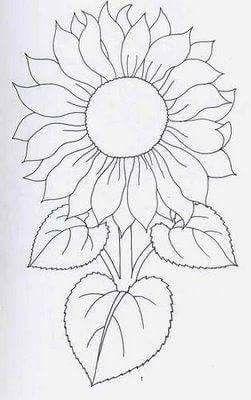 Best 25+ Sunflower template ideas on Pinterest | Sunflower ...