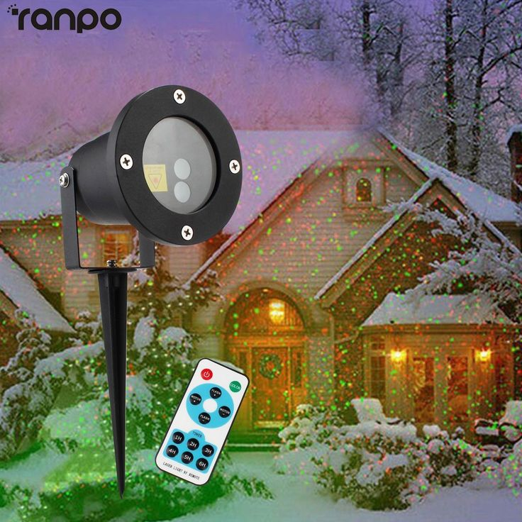Waterproof Moving Projector Laser Led Garden Christmas Light Stage Light Outdoor