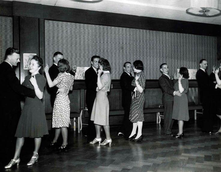 Школа танцев. 1941
