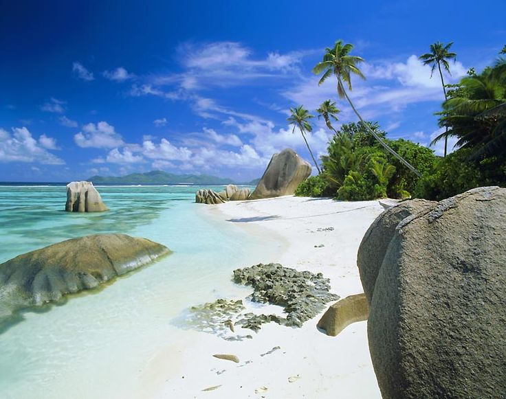 Anse Source d'Argent Beach. La Digue / Seychelles