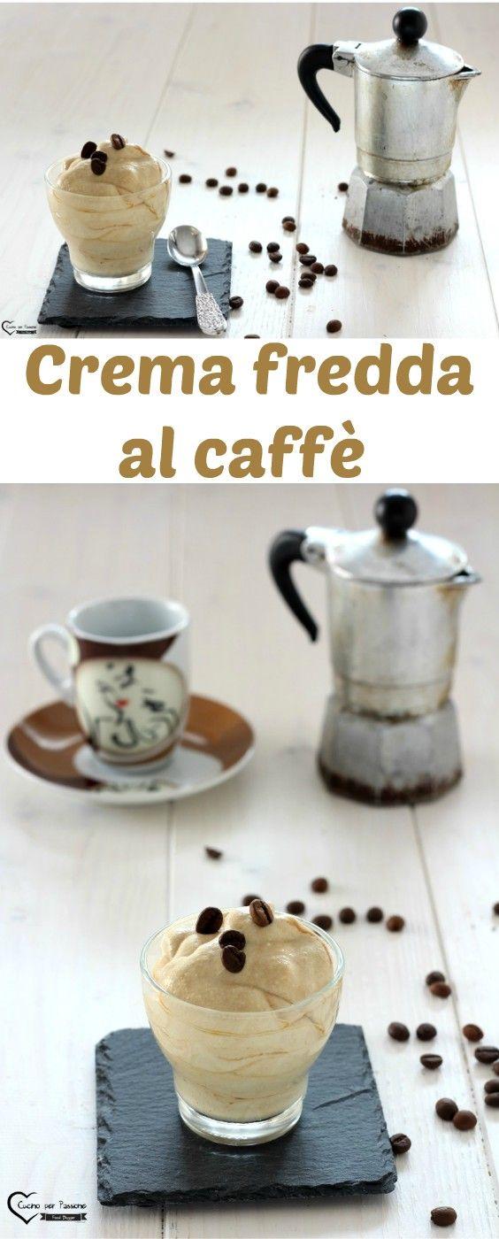 Crema fredda al caffè, dolce al cucchiaio con solo 4 ingredienti #cucina #ricette #caffè #dolce