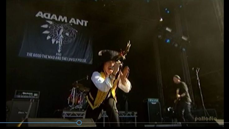 Adam Ant - Ant Music at Hard Rock Calling in Hyde Park, London (2011)