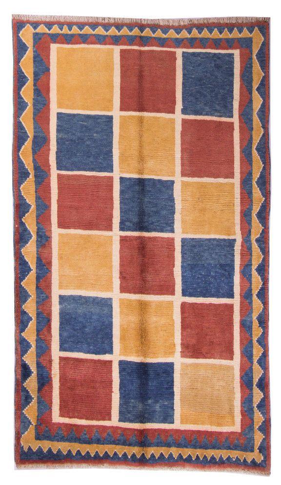 Gabbeh  Teppiche Perser Moderno Tappeto 204 x 159 cm Rugs  orient tæppe