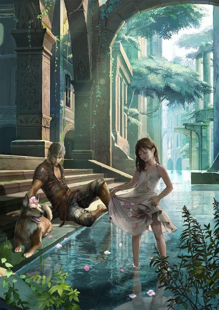 Der Tempel der Ewigkeit, wo Maeri nach Graysons Tod ihn findet