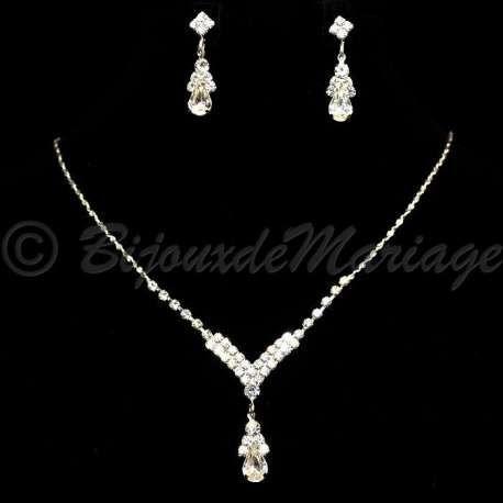 """""""DÉLICE"""" parure de bijoux mariage, ton argent 2881-26072012"""