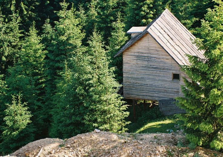 Summer cabin in the Carpathian mountains, near Cluj-Napoca, Romania.