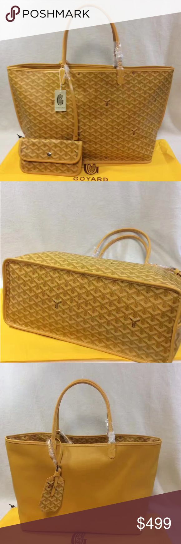 Goyard tote Amazing style, high quality comes with dust bag.Not posting additional pics, need more pics refer to greet pic . Price negotiable Goyard Bags