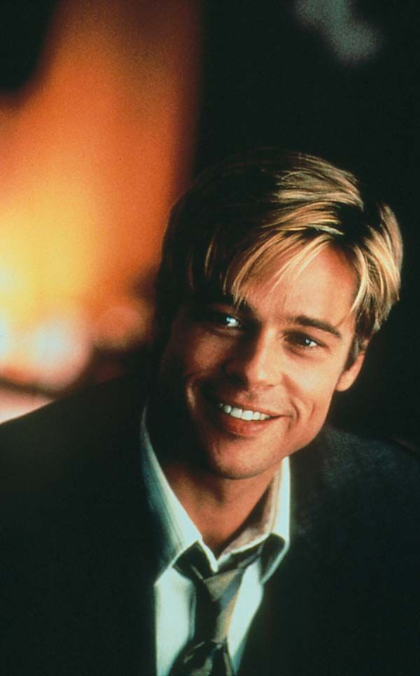 love his hair/clothes/character in Meet Joe Black