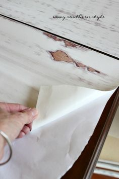Savvy Southern Style: No Nails, Caulk, Primer, Paint or Even Wood....planked wall tutorial