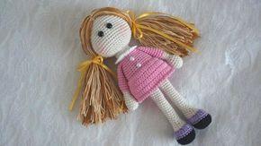 Как связать куклу амигуруми схема