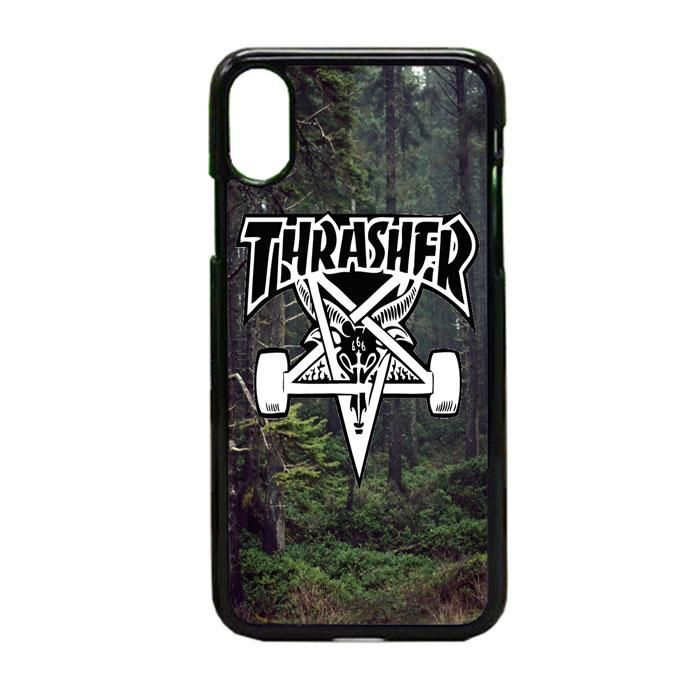 new product 10054 0dbcd Thrasher Nature iPhone X Case | Casevega #iphonexcase, | iPhone ...