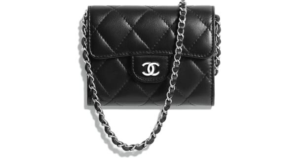9cd6f1d1 Classic Clutch with Chain, lambskin & silver-tone metal, unknown ...