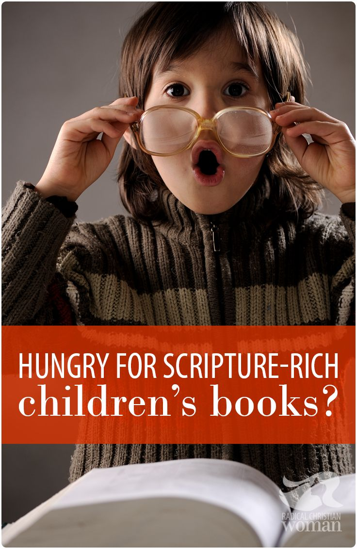 """I love reading Bible-based books that """"get on my kid's level"""" but sometimes I need some options for kid's books with actual scriptures from the Bible."""