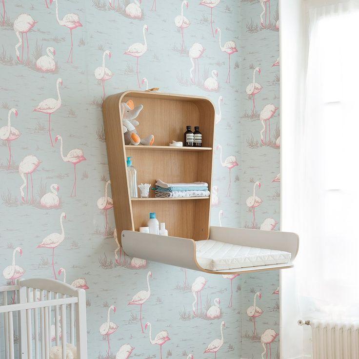 les 25 meilleures id es concernant table langer murale sur pinterest stockage de l 39 art d. Black Bedroom Furniture Sets. Home Design Ideas